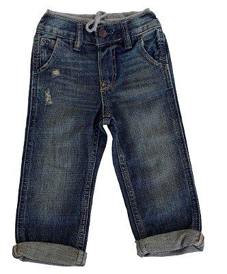 Calça Jeans | Baby Gap - Modern com cós em moletom