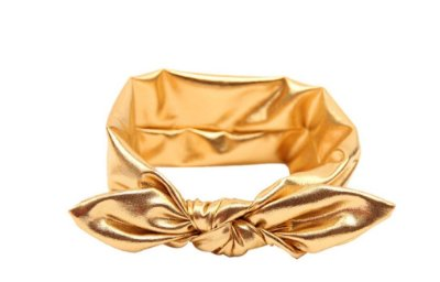 Faixinha turbante - Gold
