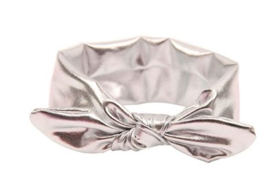 Faixinha turbante - Silver