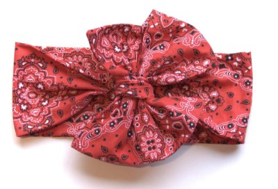 Headwrap | Maxilaço - Bandana Vermelha