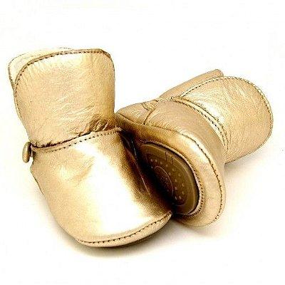 Botinha Gigi - Gold