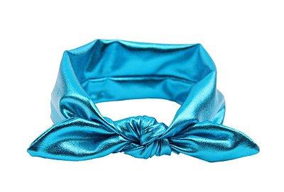 Faixinha turbante - Blue