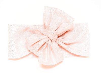 Headwrap | Maxilaço - Lurex Rosa
