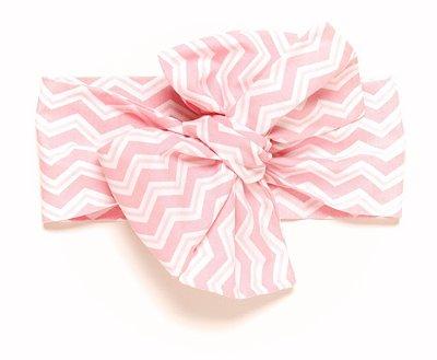 Headwrap | Maxilaço - Chevron rosa
