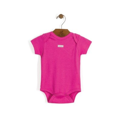 Body Manga Curta | Up Baby - Pink