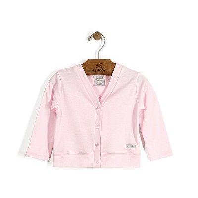 Cardigan | Up Baby - Rosa bebê