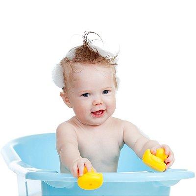 Banheira com Trava de Segurança Baby Be