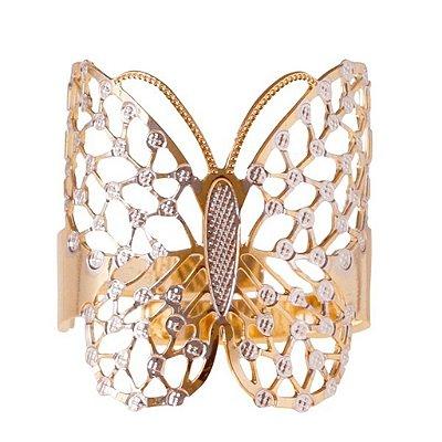 Anel Borboleta dourado