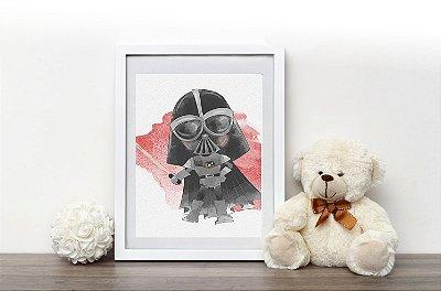 Quadro Infantil Coleção Star Wars