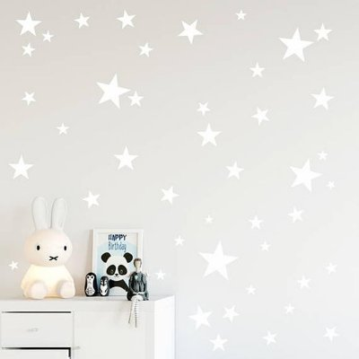 Adesivo de Parede Infantil Estrela Branca