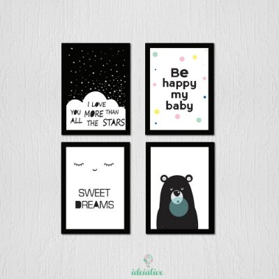 Quadro Infantil Sweet Dreams