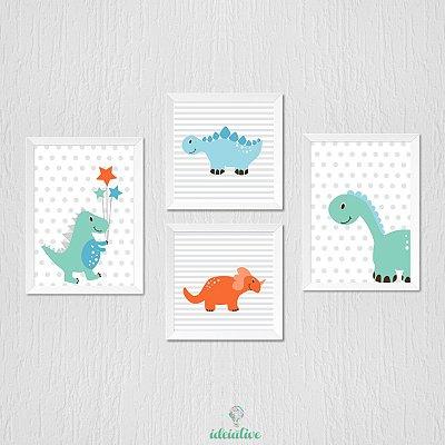Quadrinho Infantil Dinossauros