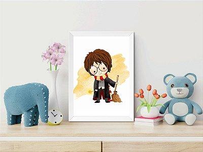 Quadro Infantil Harry Potter (vários personagens)