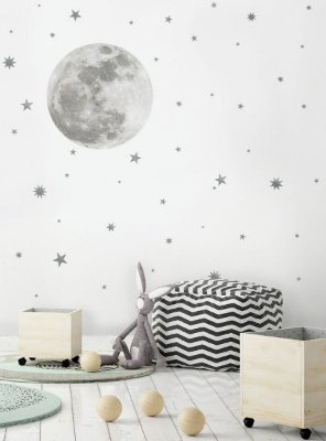 Adesivo de Parede Lua