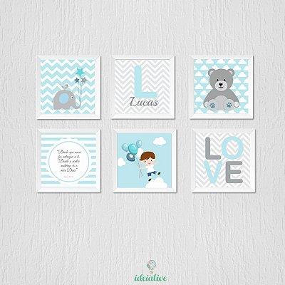 Decoração Menino Ursinho, Love, Elefante