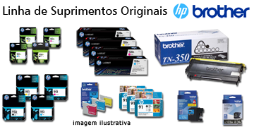 Linha De Suprimentos Originais HP e Brother
