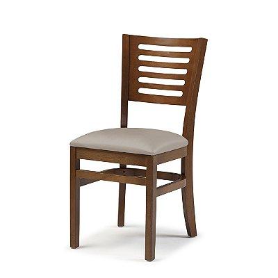 Cadeira Lina Assento Estofado Fendi 4.2.930