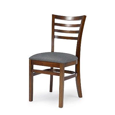 Cadeira Luanda Assento Estofado Grafiatto 4.2.487