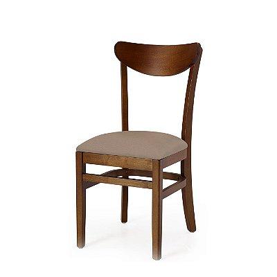 Cadeira Lisboa Assento Estofado Nude 4.2.929