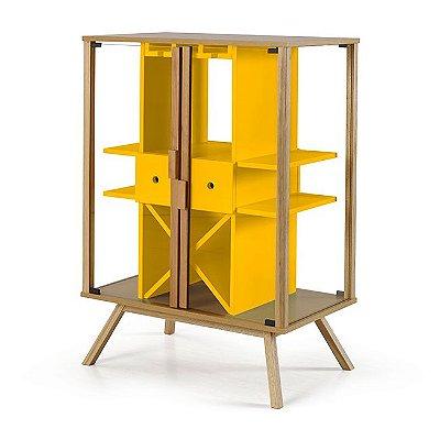 Adega Mystic 2 Portas / Cor Amarelo M40