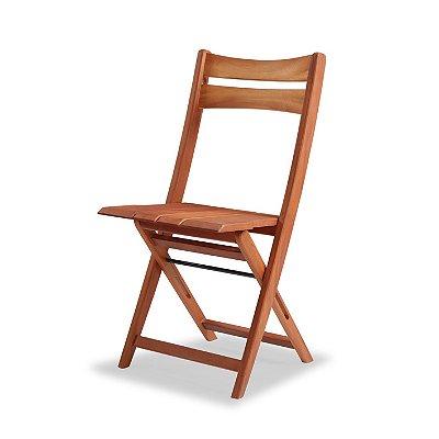 Cadeira Dobrável Bali cor Mogno