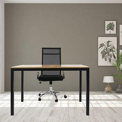 Mesa Solin e Cadeira tela alta Para Home Office