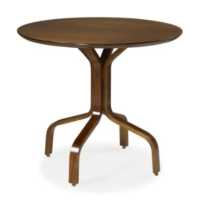 Mesa Piacere em madeira maciça, tampo multilaminado