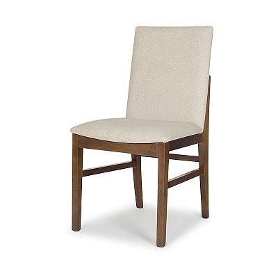 Cadeira Resilience em madeira Assento Estofado