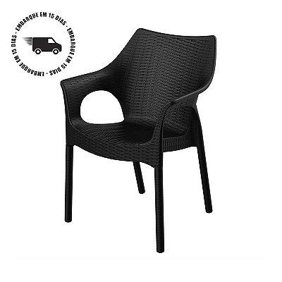 Cadeira RELIC polipropileno pés de alumínio revestidos
