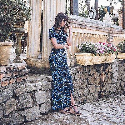 Vestido Longo Crepe | Joyaly | Moda Evangélica