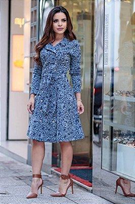 Vestido Jacquard | Joyaly | Moda Evangélica