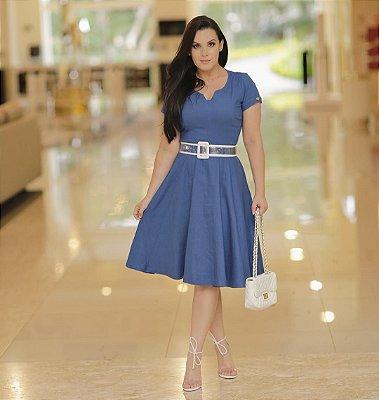 Vestido Jeans Lady Like - 5627 - NK3