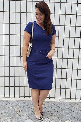 Vestido Tubinho Com Manga Raglan