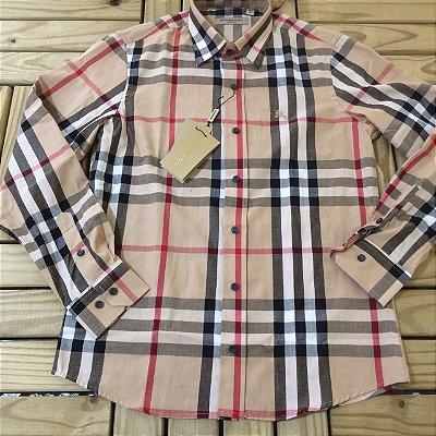 6dd4be64b4 Camisa Xadrez Burberry - Outlet - Roupas e Calçados