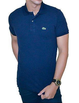 Camisa Gola Polo LCT Azul Marinho