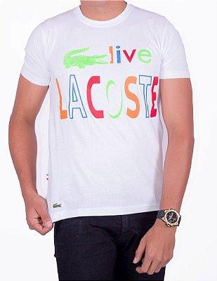 Camiseta T-Shirt L-01 Branca