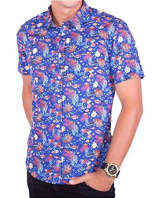 Camisa Casual RSV Azul