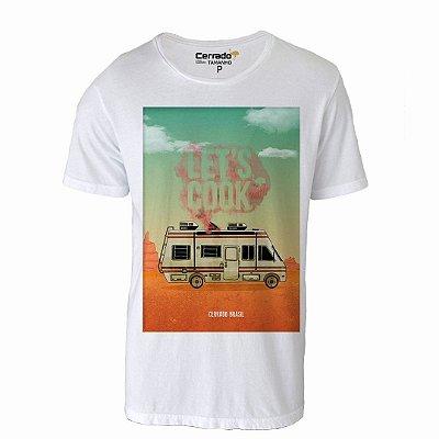 Camiseta Gola Básica Cerrado Brasil - Let's Cook
