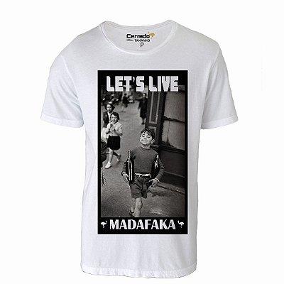 Camiseta Gola Básica Cerrado Brasil - Let's Live