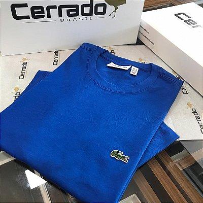 T-Shirt Básica L a c o s t e Azul