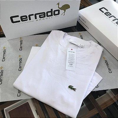 T-Shirt Básica L a c o s t e  Branca