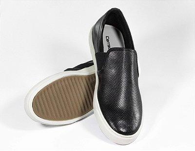 Sapato Cerrado Brasil Slip on Black