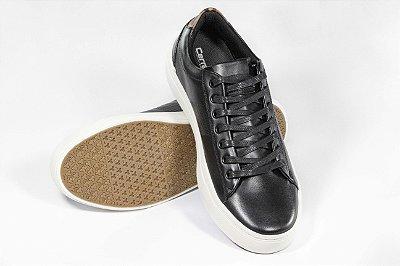 Tenis Cerrado Brasil Leather Black