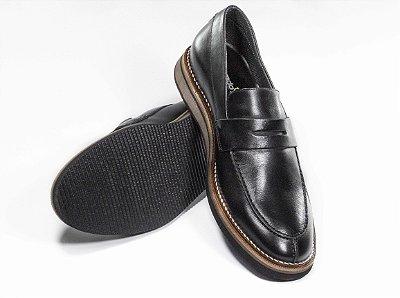 Sapato Cerrado Brasil Loafer Black