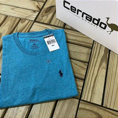 Camiseta Básica RL Azul Claro