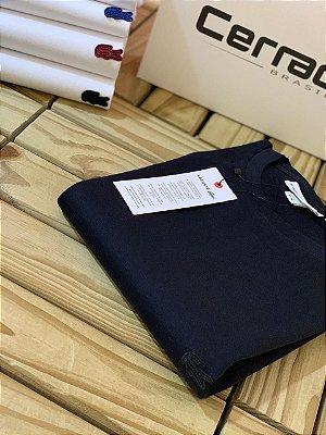 T-Shirt Básica LC Monocromática Azul Marinho