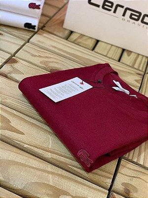 T-Shirt Básica LC Monocromática Vinho