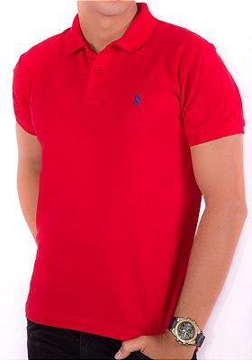 Camisa Gola Polo RL Vermelha
