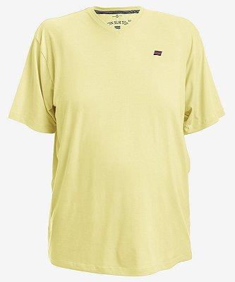 Camiseta Amarela Tonsurton - Gola V