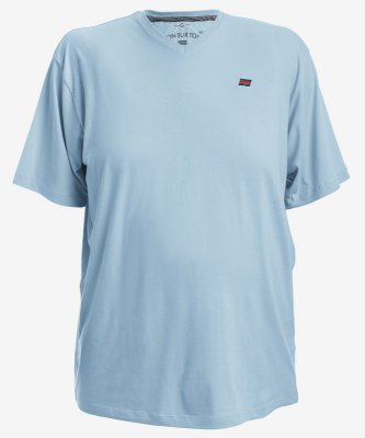 Camiseta Azul Tonsurton - Gola V